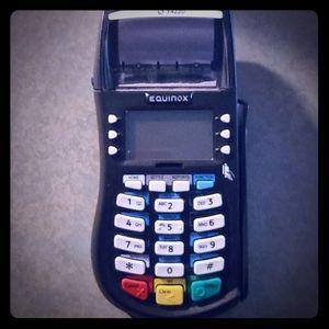 Equinox credit card reader